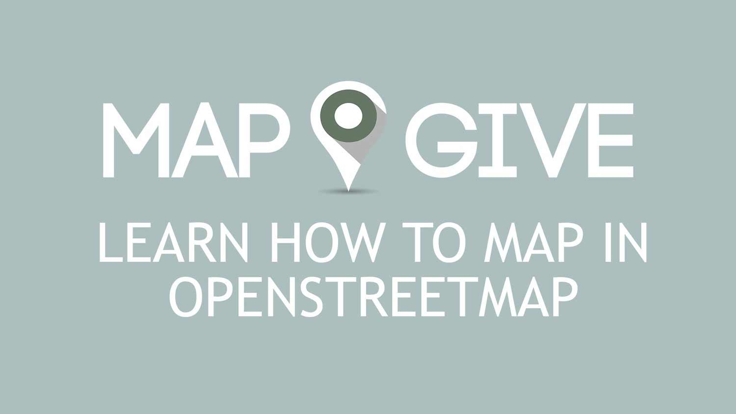 YouTube embedded video: Learn How to Map in OpenStreetMap. Press space or enter to play video.